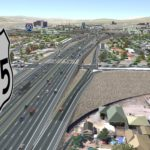 Proposed Oddie Boulevard interchange through Identified Preferred Alternative