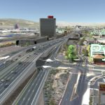 Proposed Pyramid Way interchange through Identified Preferred Alternative