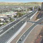 Proposed Rock Boulevard interchange through Identified Preferred Alternative