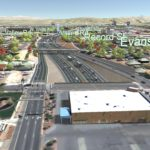 Proposed Sierra-Virginia-Center streets interchange through Identified Preferred Alternative